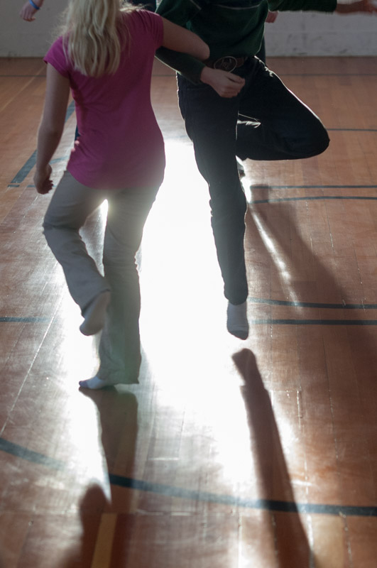 Montana Photojournalist Bynum School Dancing07