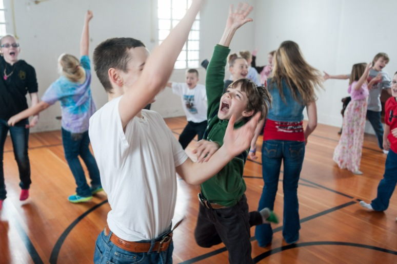 Montana Photojournalist Bynum School Dancing16