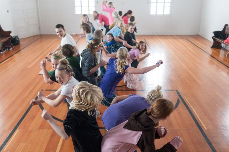 Montana Photojournalist Bynum School Dancing17
